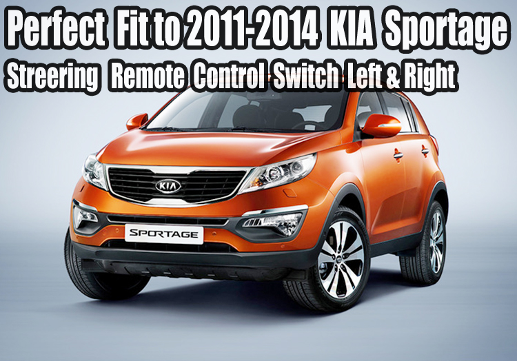 kia 2011 2014 sportage steering wheel remote control. Black Bedroom Furniture Sets. Home Design Ideas