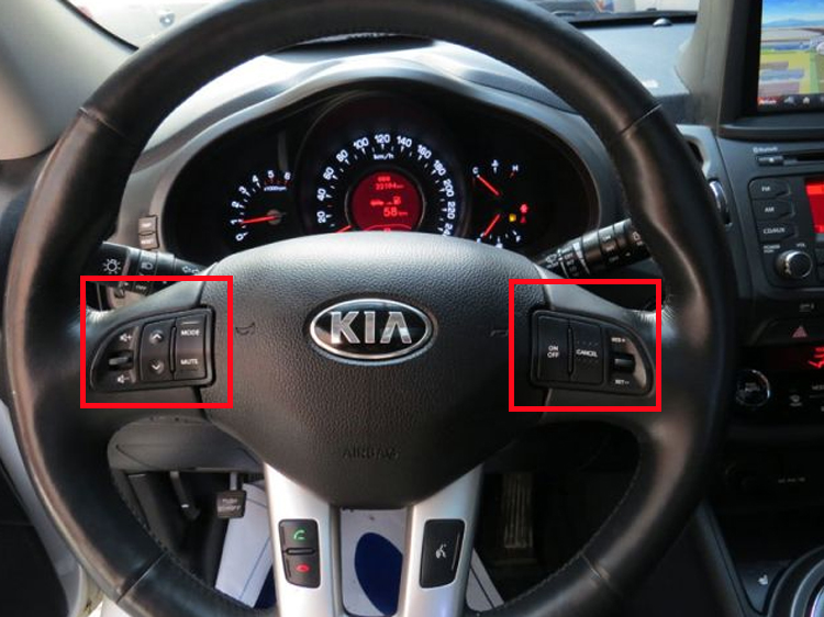 Kia 20112014 Sportage Steering Wheel Remote Control Extension